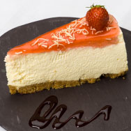 Cheesecake from Dessert Menu