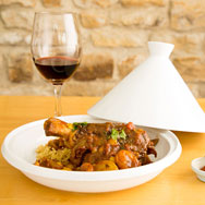 Special Evening Lamb Shank Tagine