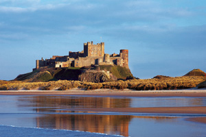 Bamburgh Castle (official photo)