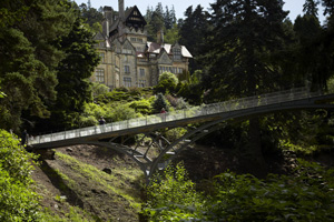 Cragside House and Iron Bridge (photo by National Trust)
