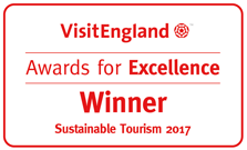Visit England Sustainable Tourism Winner 2017