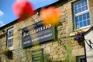 Battlesteads Sign