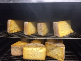 Cheese in the Smoker