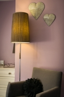 Twin Bedroom with En-suite: Bedside Table Lamp