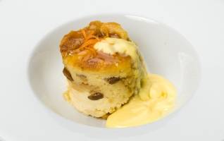 Whisky and Marmalade Bread and Butter Pudding